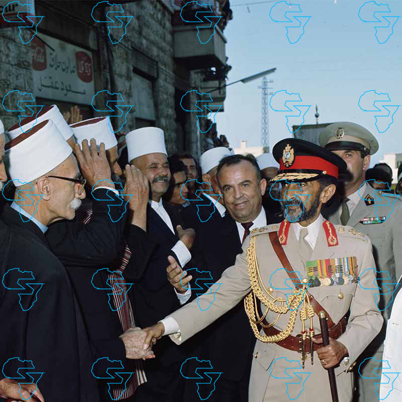 Emperor Haile Selassie I of Ethiopia and Sami Süleyman Gündoğdu Demirel (Turkey)